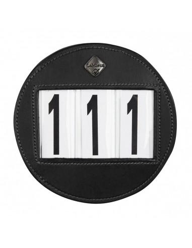 Bridle Round Number Holder