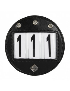 Diamante Bridle Number Holder