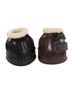 Boots w faux fur