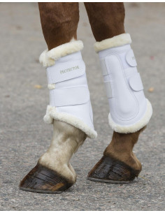 Protection Boots w Fur -...