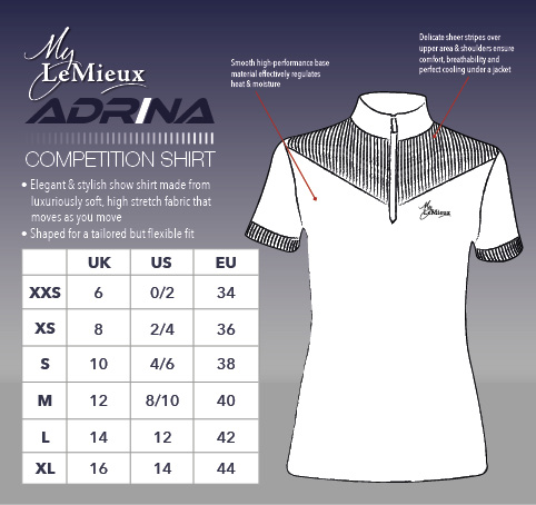Adrina Competition shirt