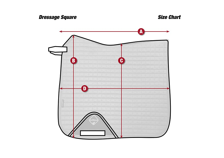 Dressage saddlepad from LeMieux